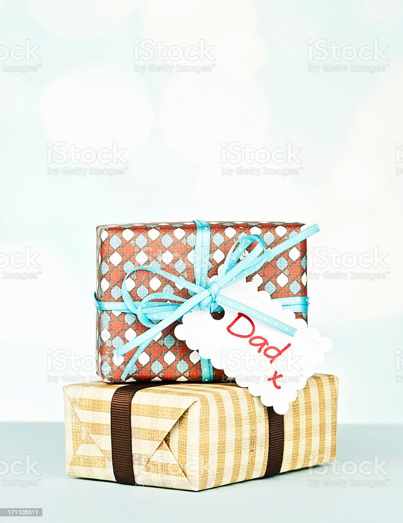 Gifts for Dad stock photo
