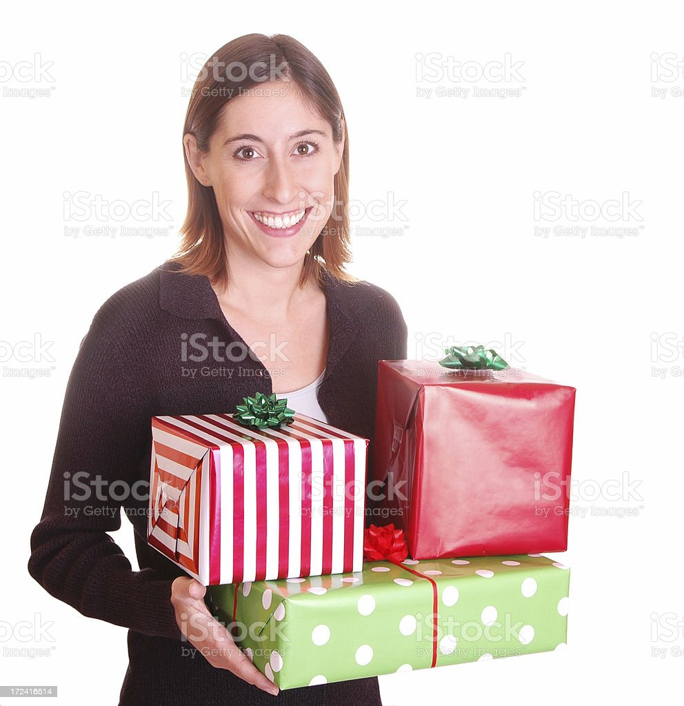 Gifts for Everybody! royalty-free stock photo