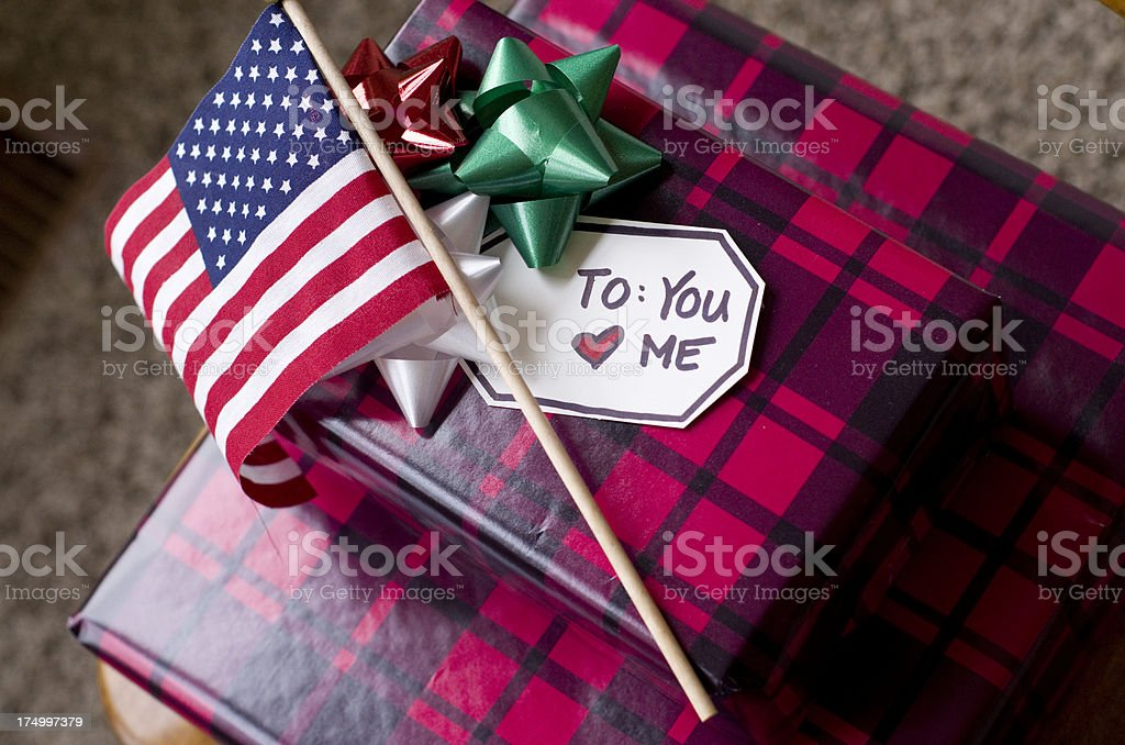 gifts for those who serve stock photo