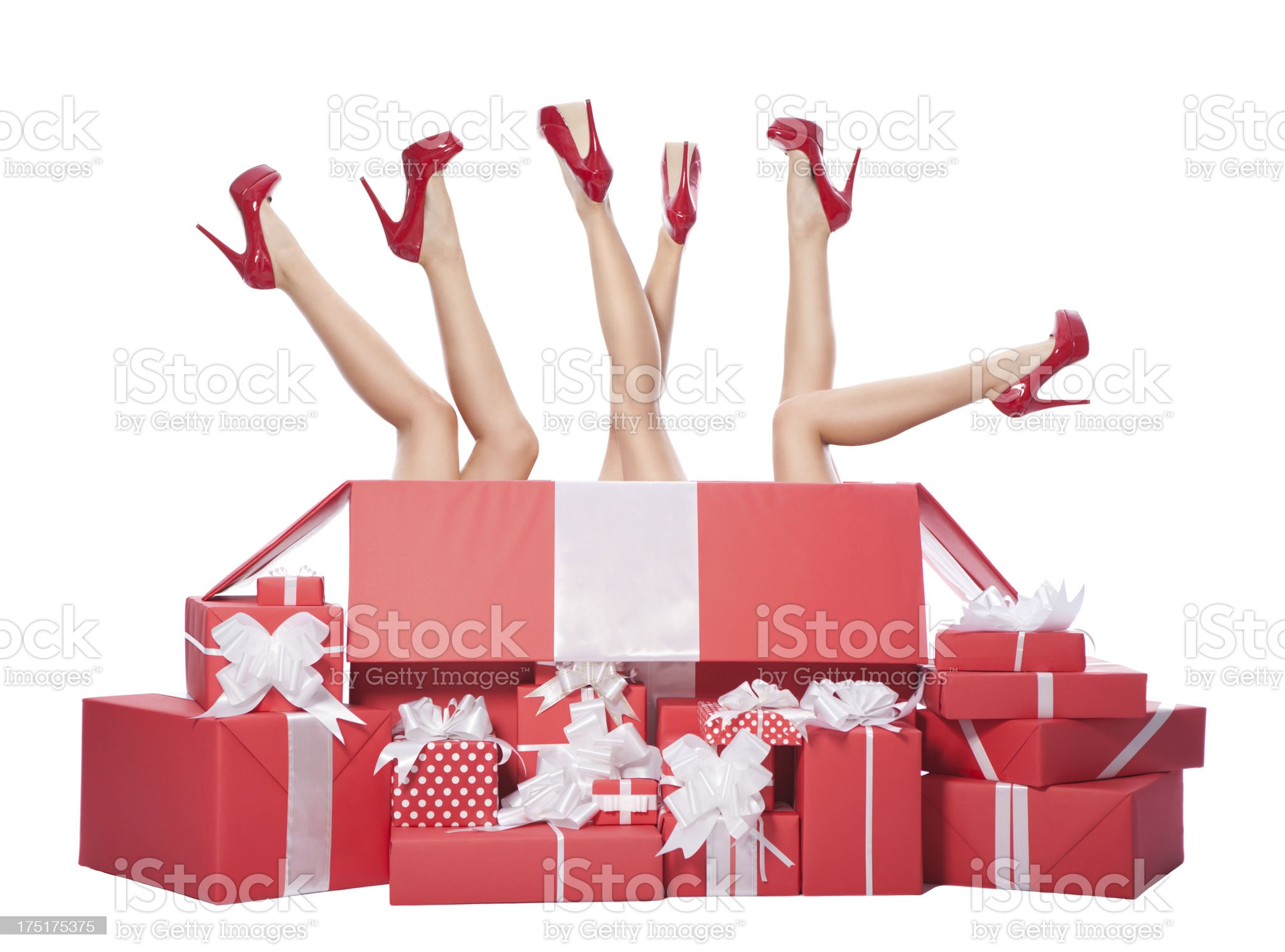 Gifts. royalty-free stock photo