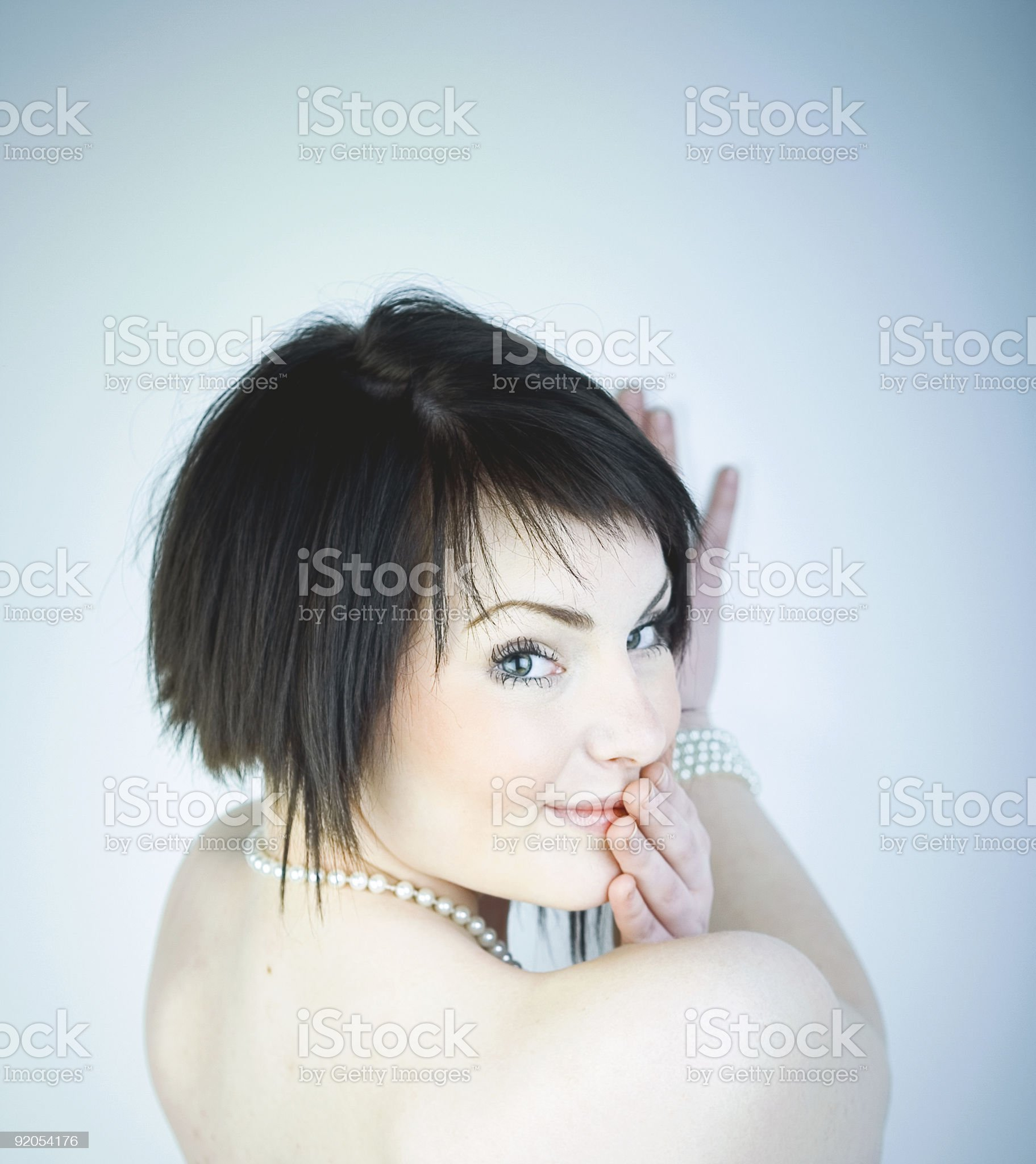 Giggles royalty-free stock photo
