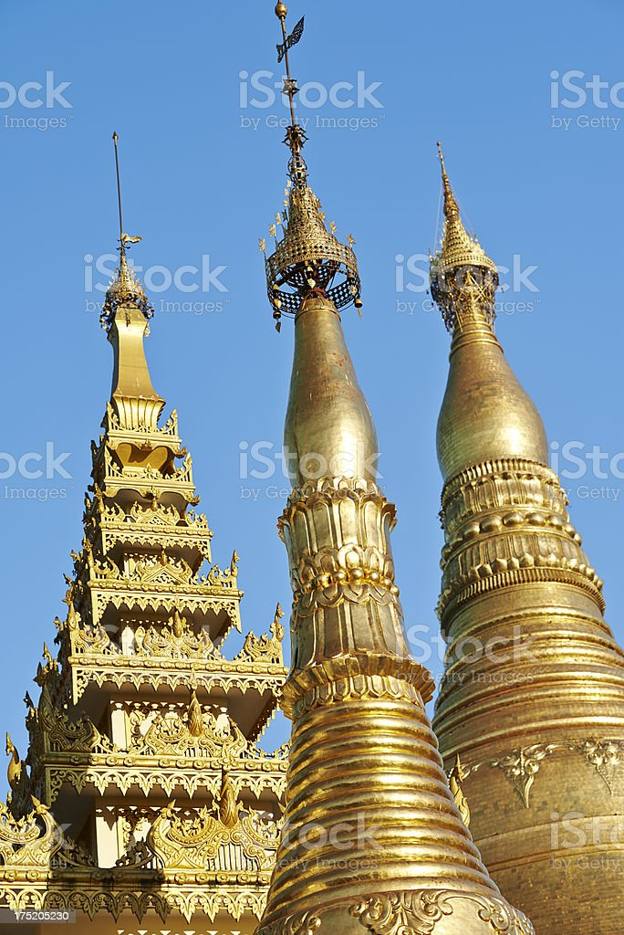 Gilded Structures royalty-free stock photo