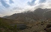 Gilgit River and lake, Pakistan