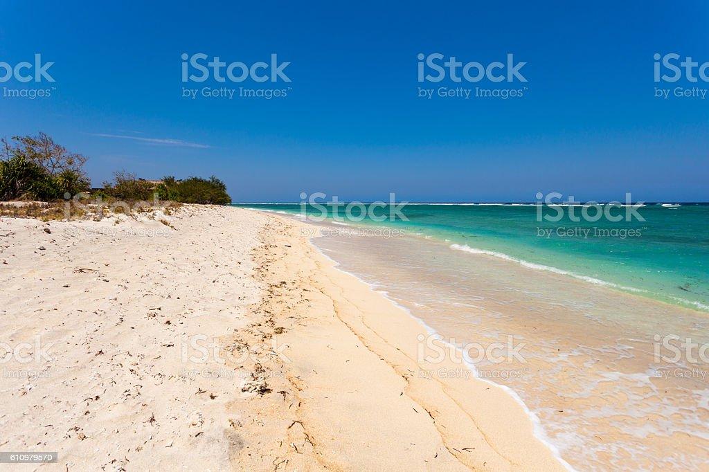 Gili Island in Lombok, Indonesia stock photo