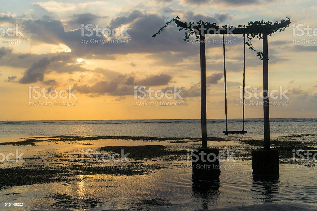 Gili Trawangan (Lombok), Indonesia stock photo