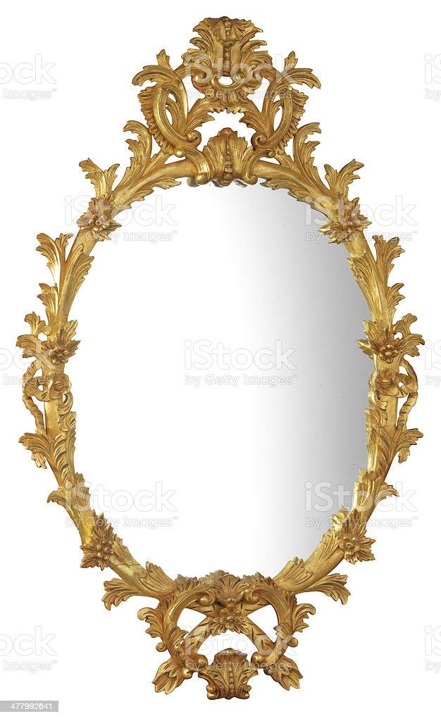 Gilt Mirror royalty-free stock photo