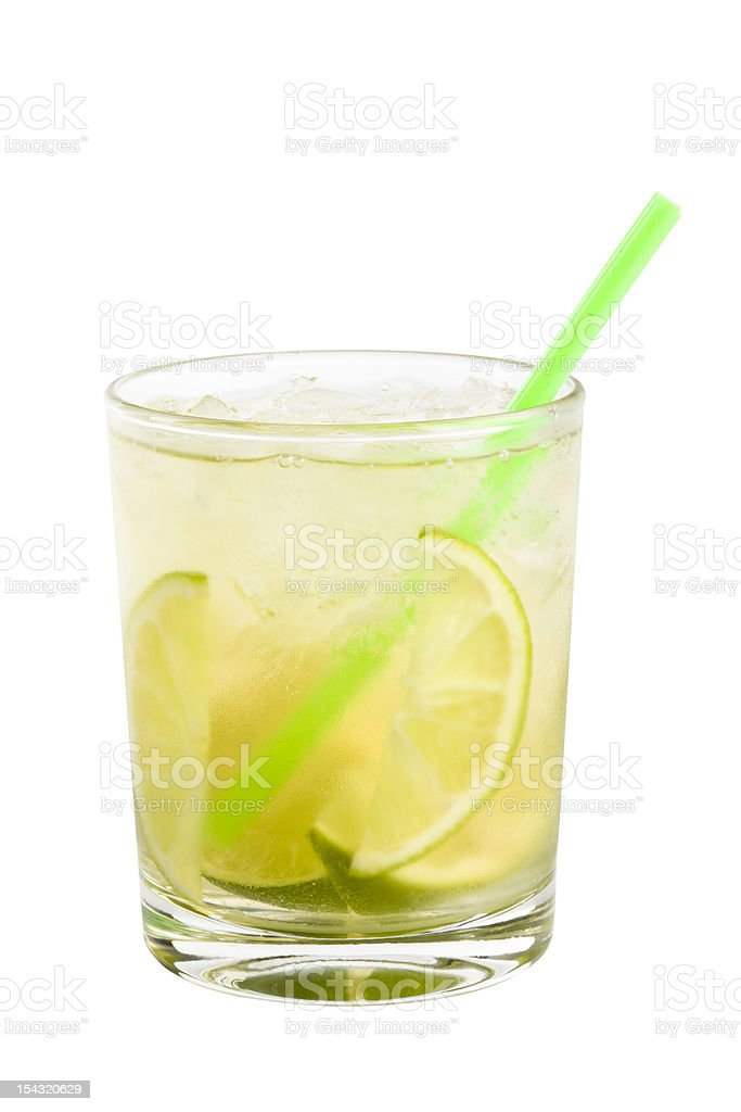 Gimlet isolated on white background stock photo