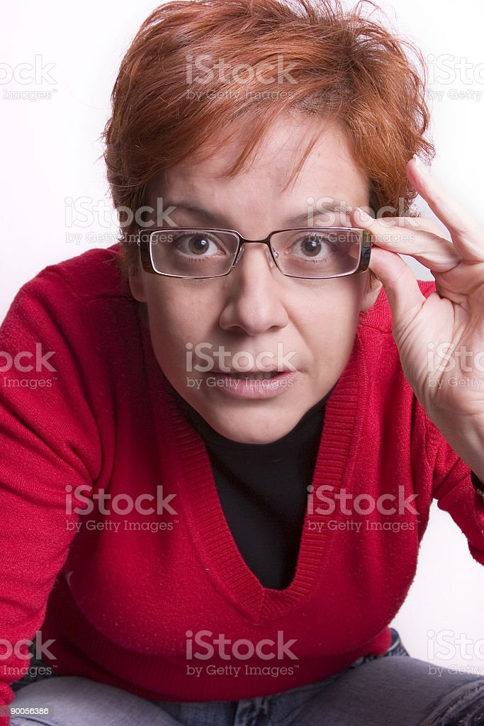 gimme your eyes royalty-free stock photo