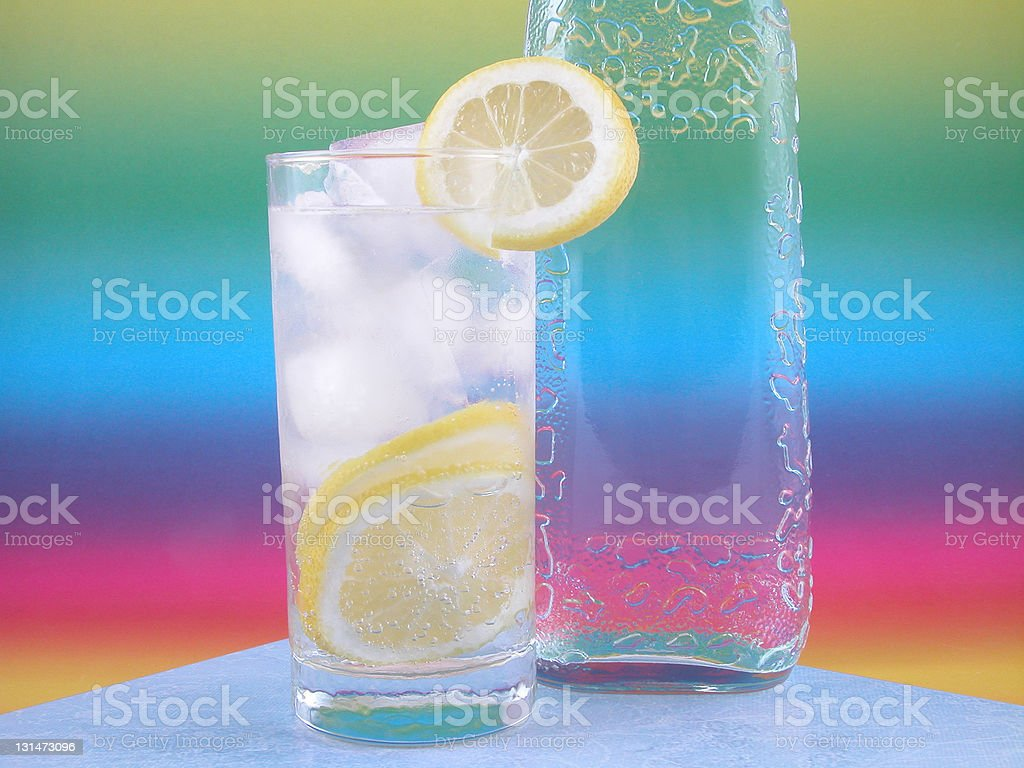 gin and tonic royalty-free stock photo