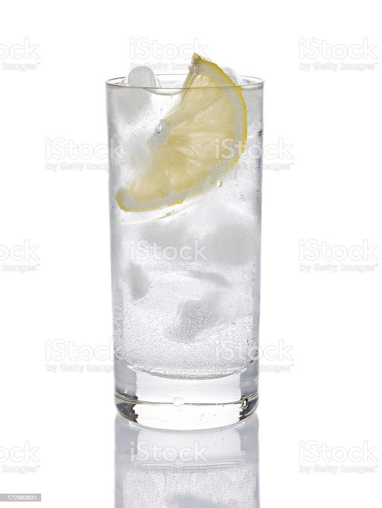 Gin or Vodka Tonic royalty-free stock photo