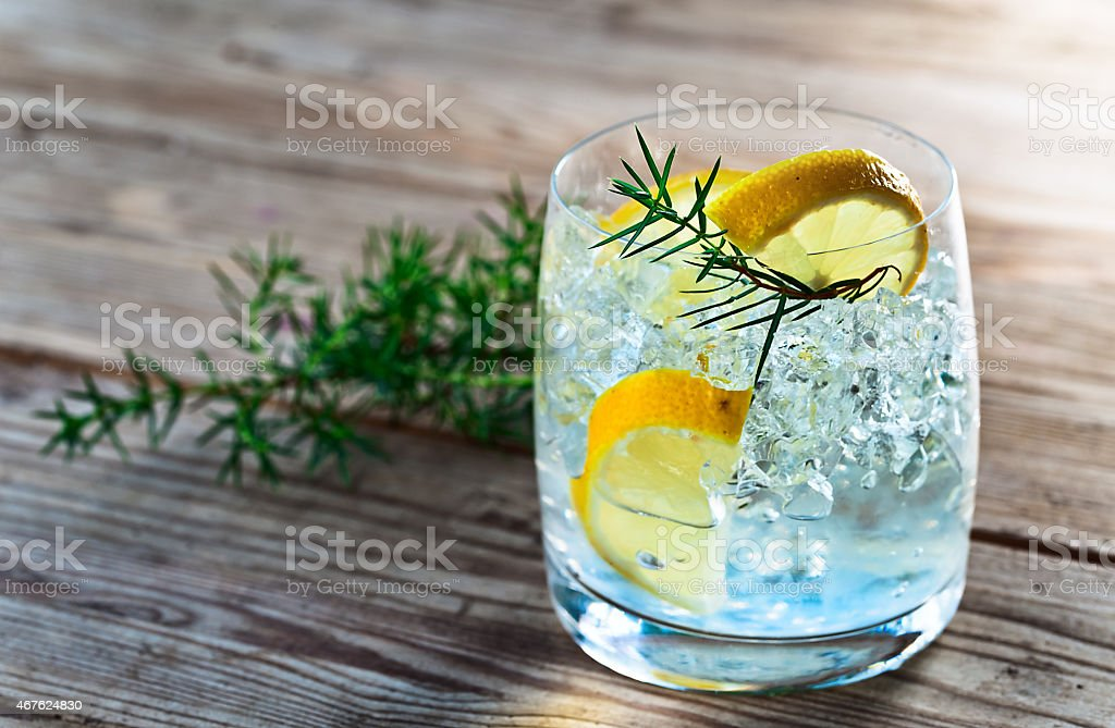 gin stock photo