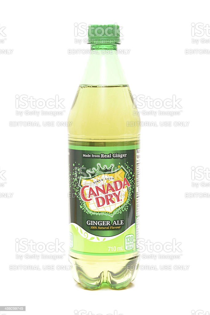 Ginger Ale stock photo