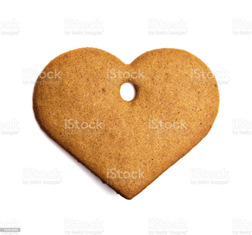 Ginger biscuits. stock photo