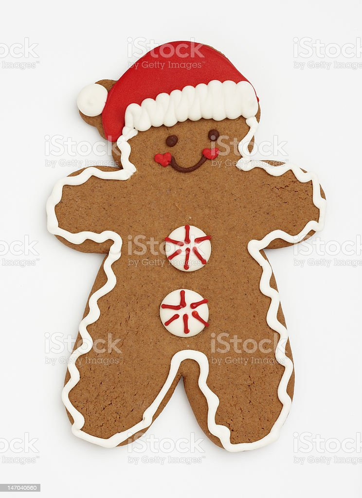 Ginger Bread Man stock photo