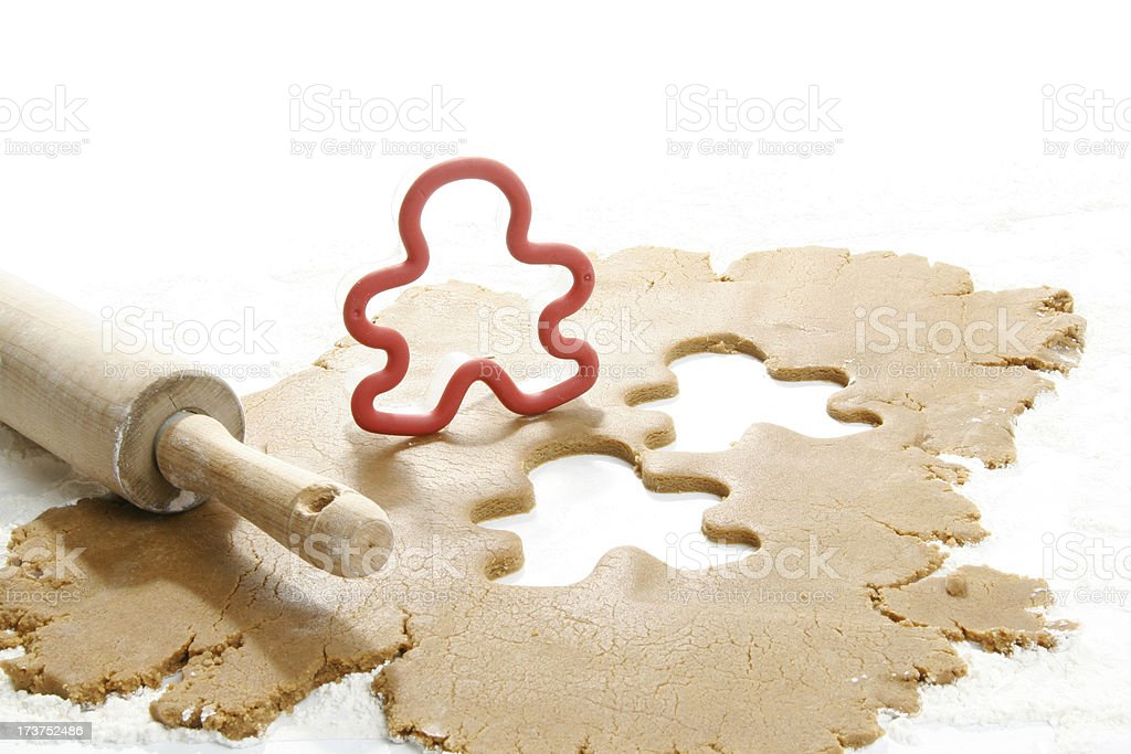 ginger bread man royalty-free stock photo