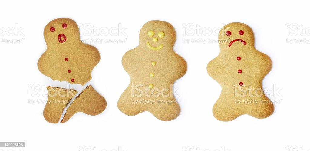 Ginger Bread Men royalty-free stock photo