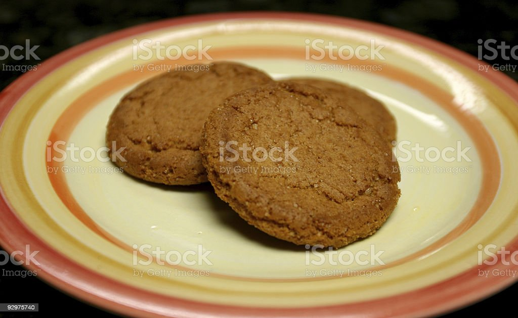 Ginger cookies royalty-free stock photo