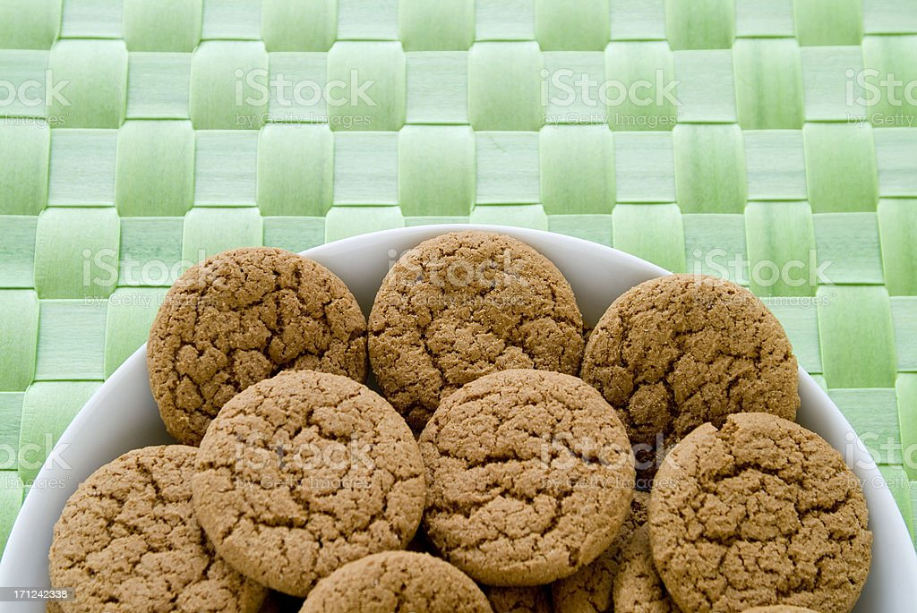 ginger cookies.2 royalty-free stock photo