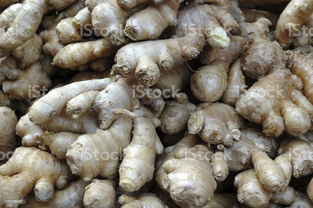 ginger pile stock photo