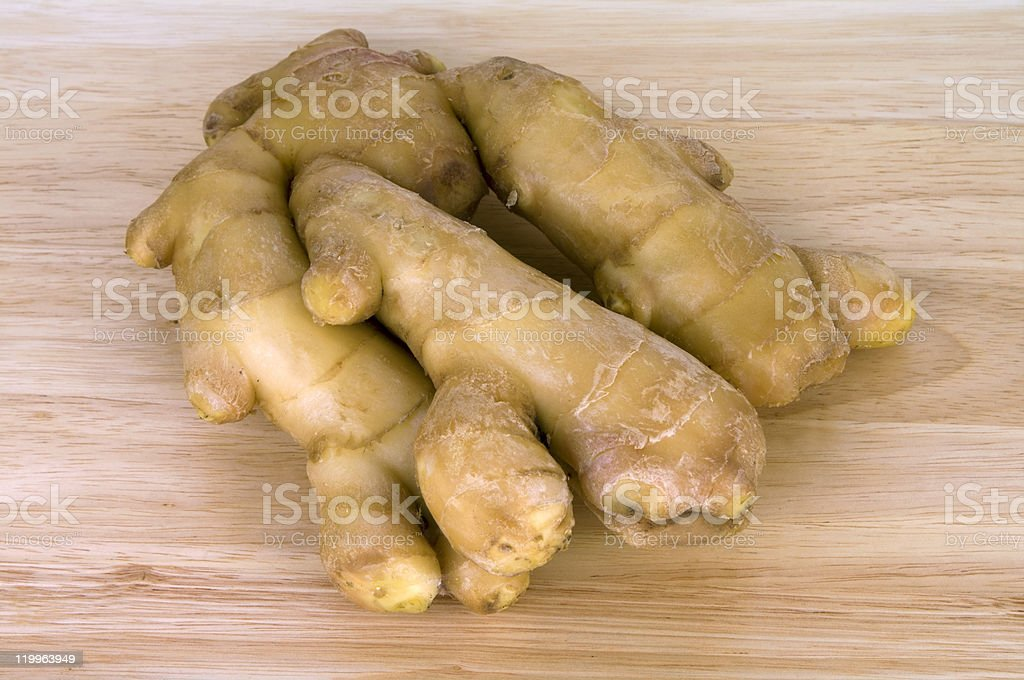 Ginger root royalty-free stock photo
