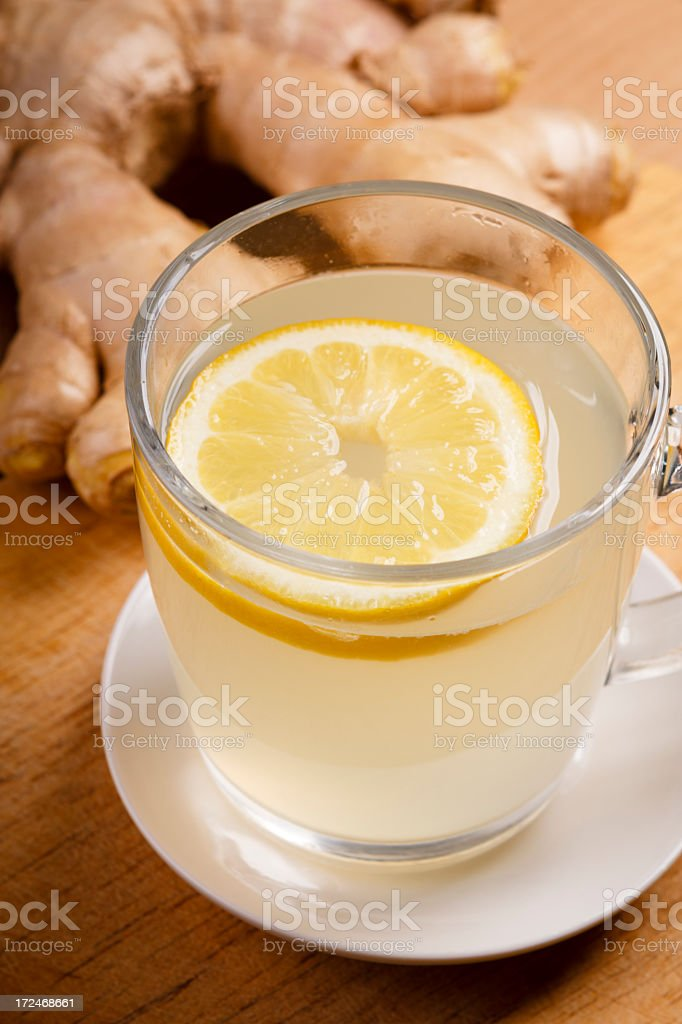 ginger tea royalty-free stock photo