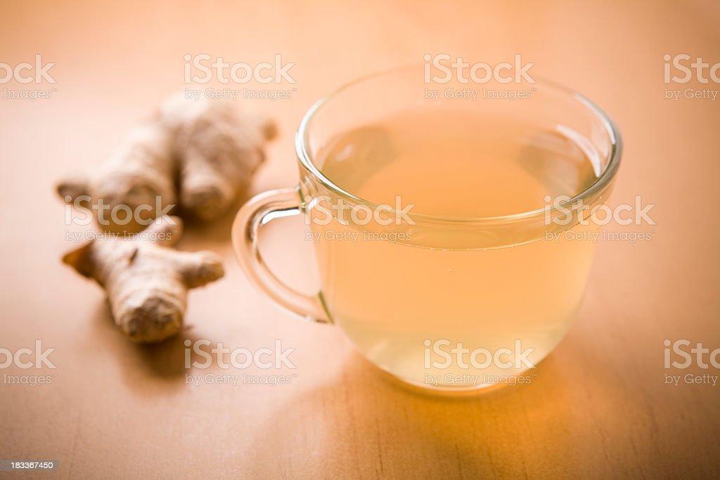ginger tea stock photo