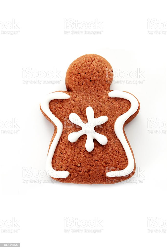 gingerbread angel royalty-free stock photo