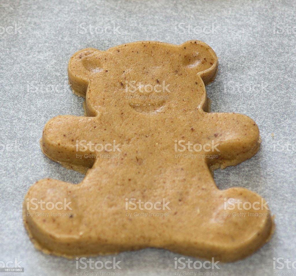 Gingerbread Bear royalty-free stock photo