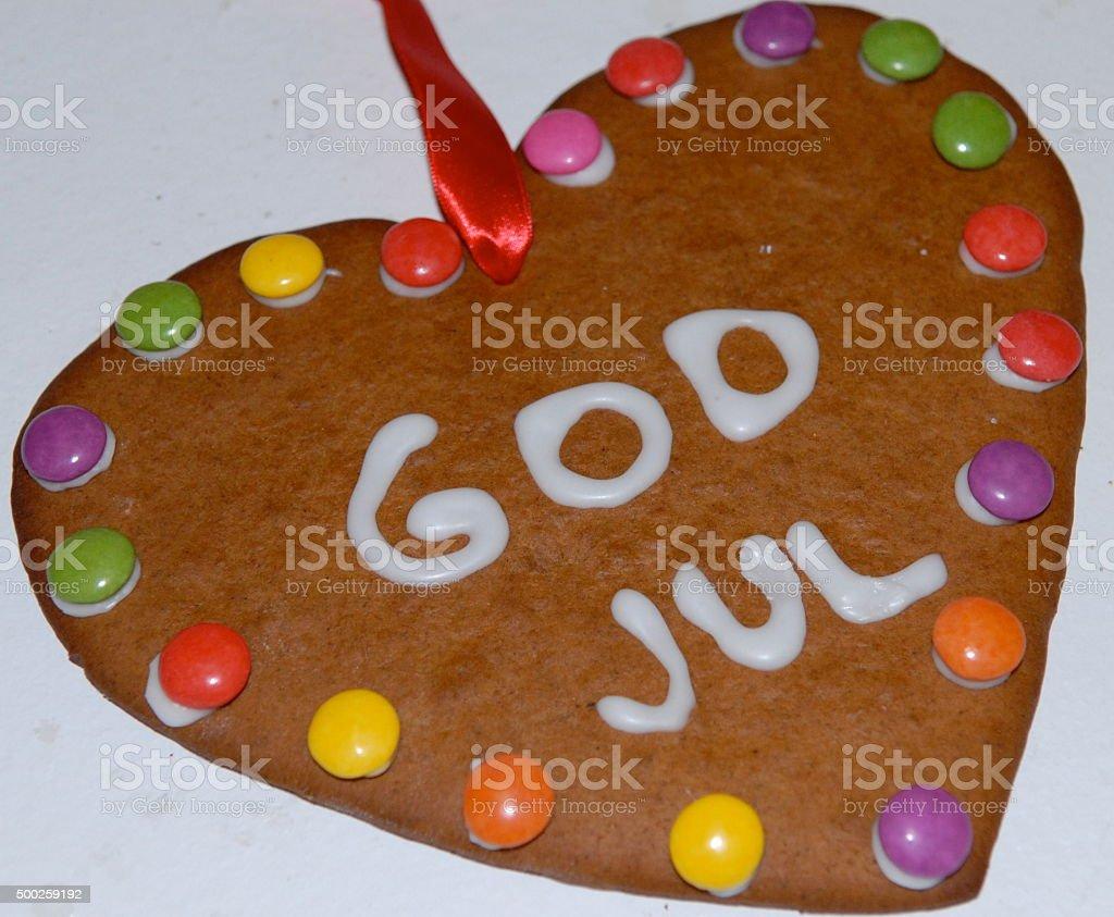 Gingerbread cake stock photo