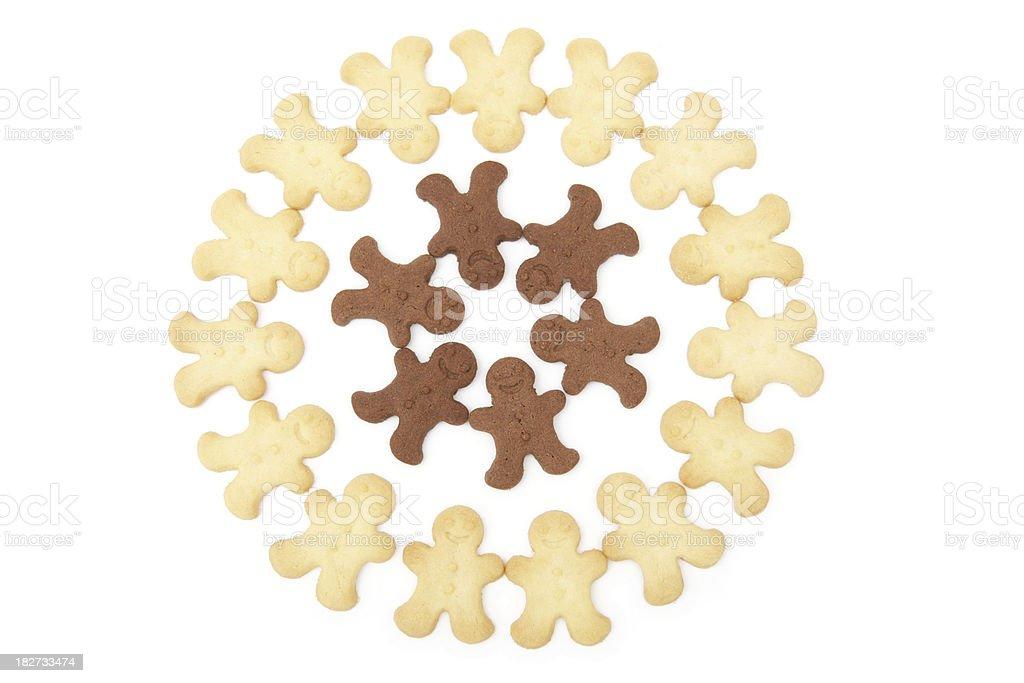 Gingerbread Community stock photo