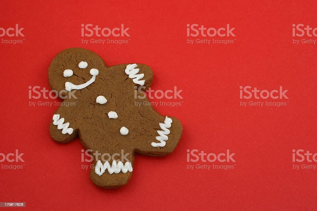 Gingerbread Cookie Background royalty-free stock photo