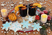 Gingerbread Cookies and Mulled Wine