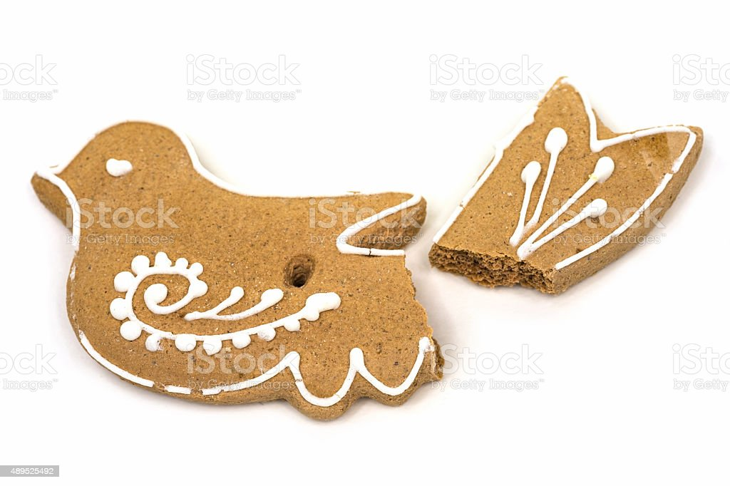 Gingerbread Cookies At Christmas stock photo