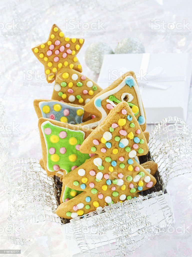 Gingerbread cookies royalty-free stock photo