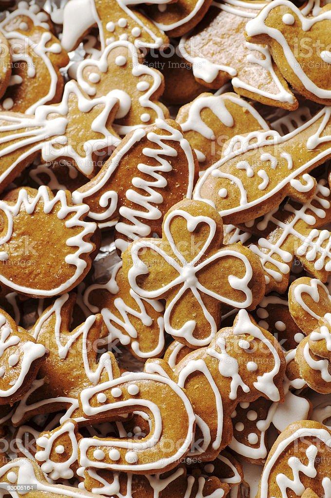 Gingerbread cookie-файлы Стоковые фото Стоковая фотография
