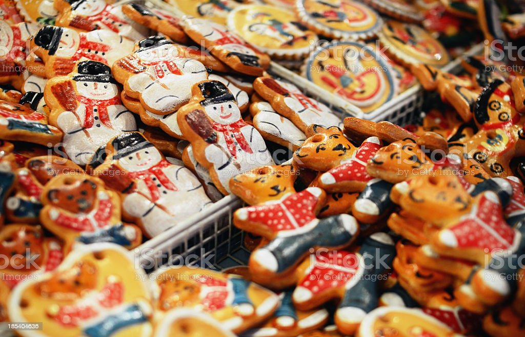 Gingerbread Decoration stock photo