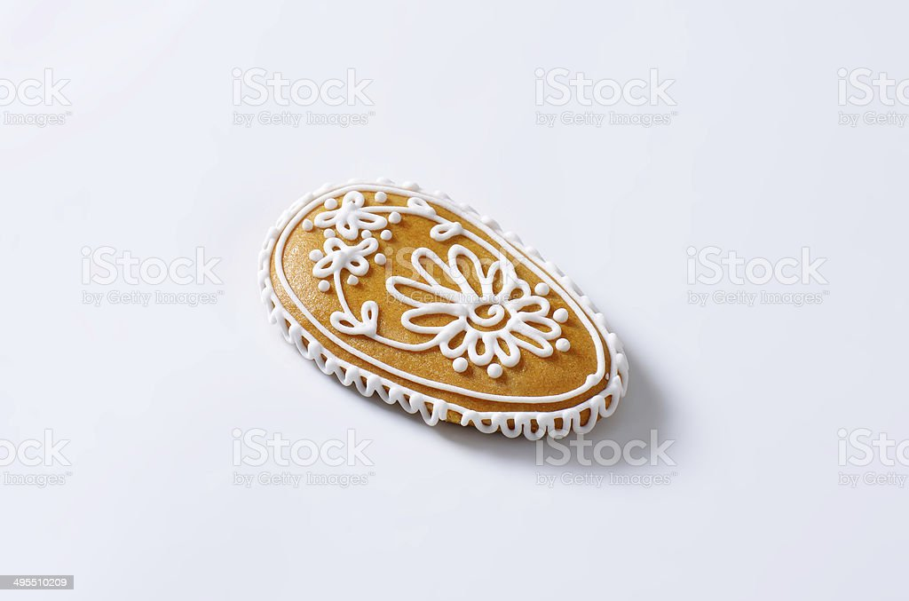 gingerbread egg royalty-free stock photo