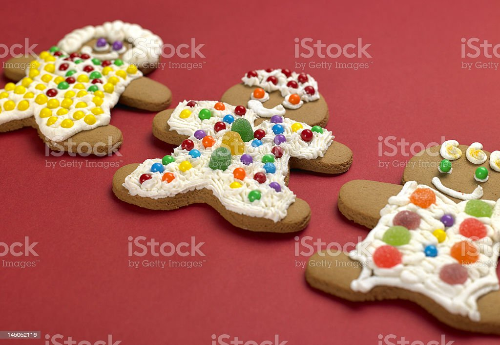 Gingerbread Friends royalty-free stock photo