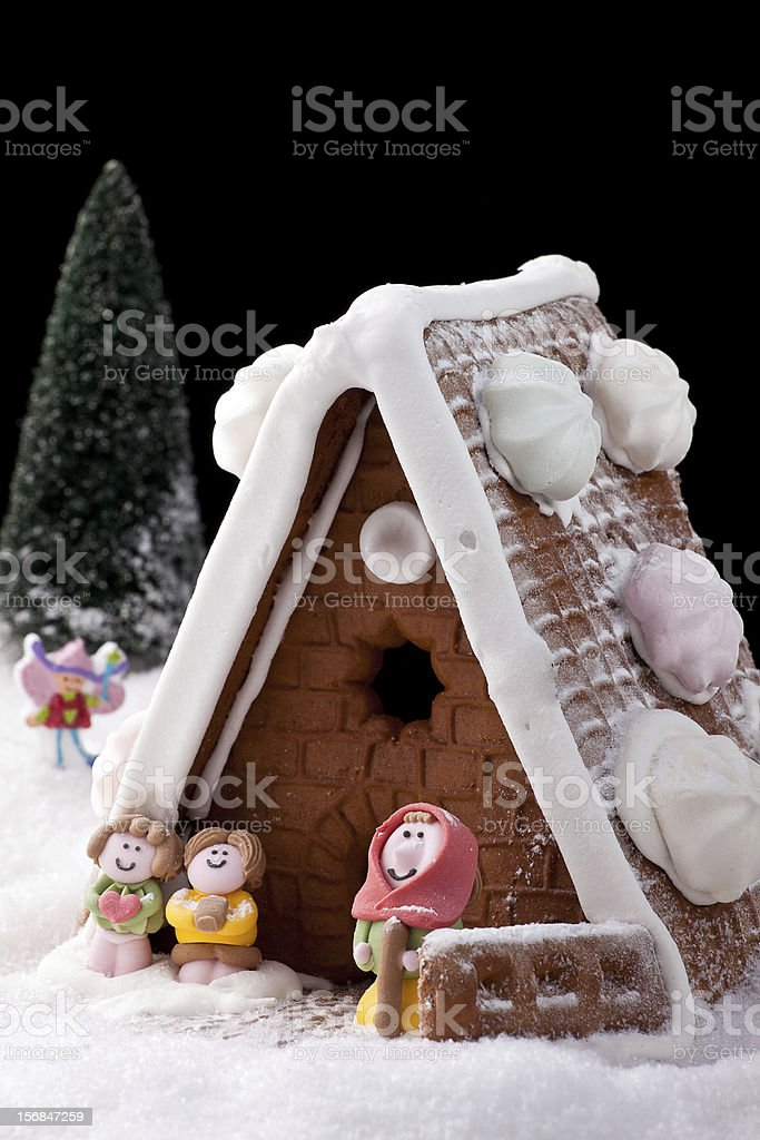 Gingerbread house Cake stock photo