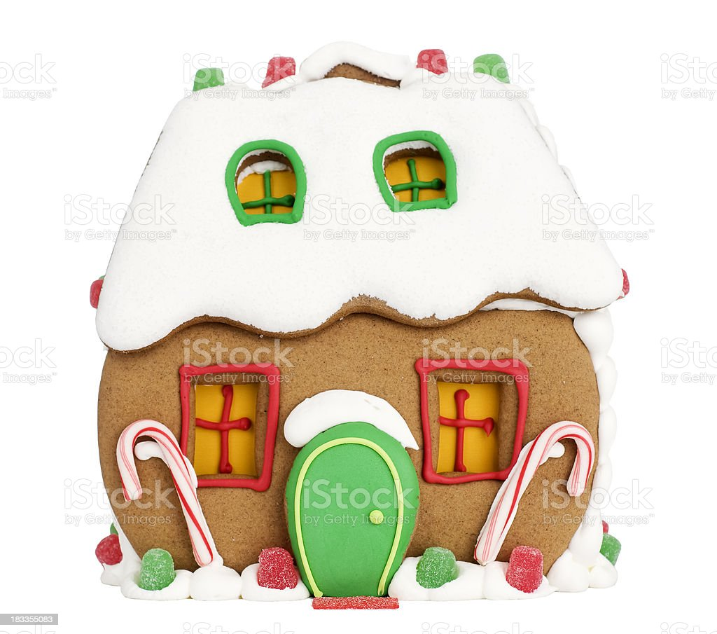 Gingerbread House royalty-free stock photo