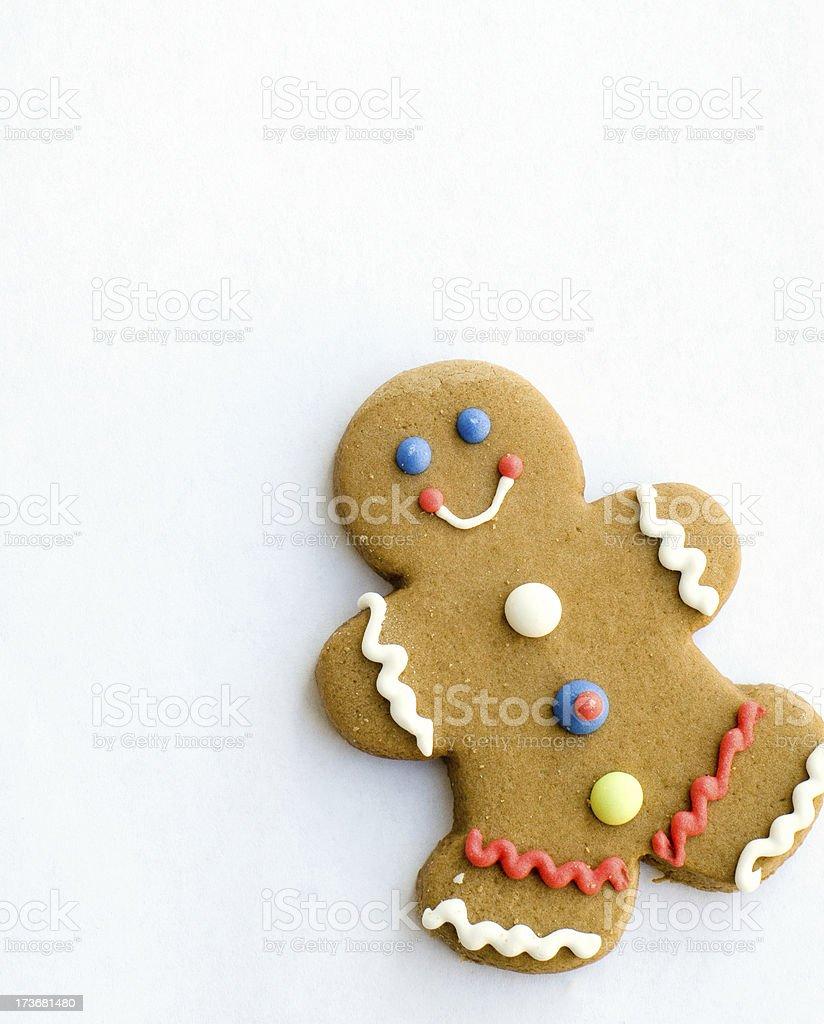 Gingerbread Man stock photo