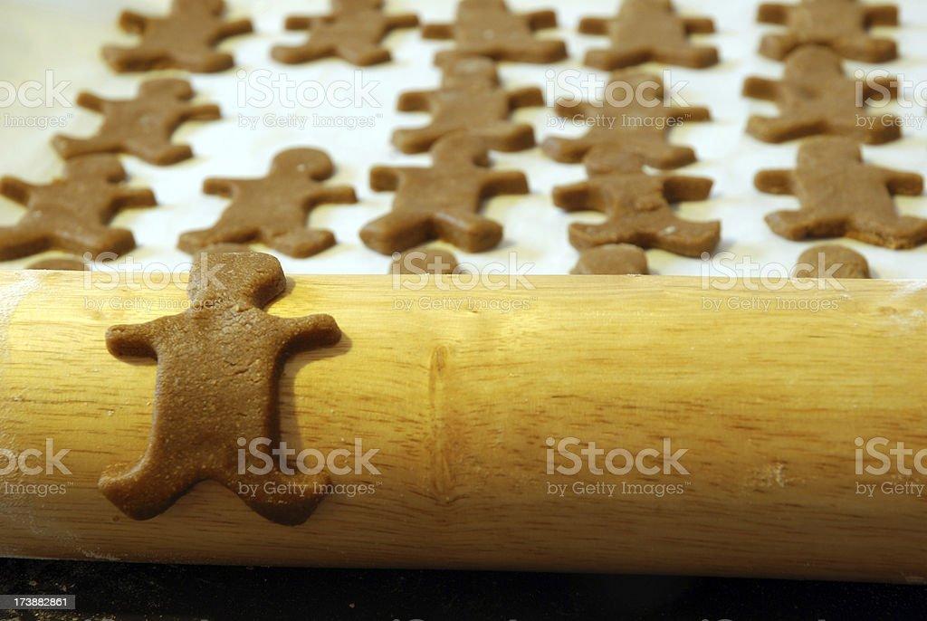Gingerbread Man royalty-free stock photo