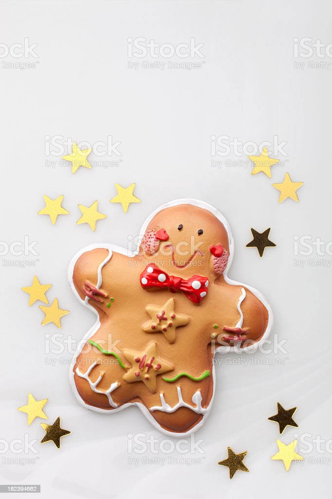 Gingerbread Man. royalty-free stock photo