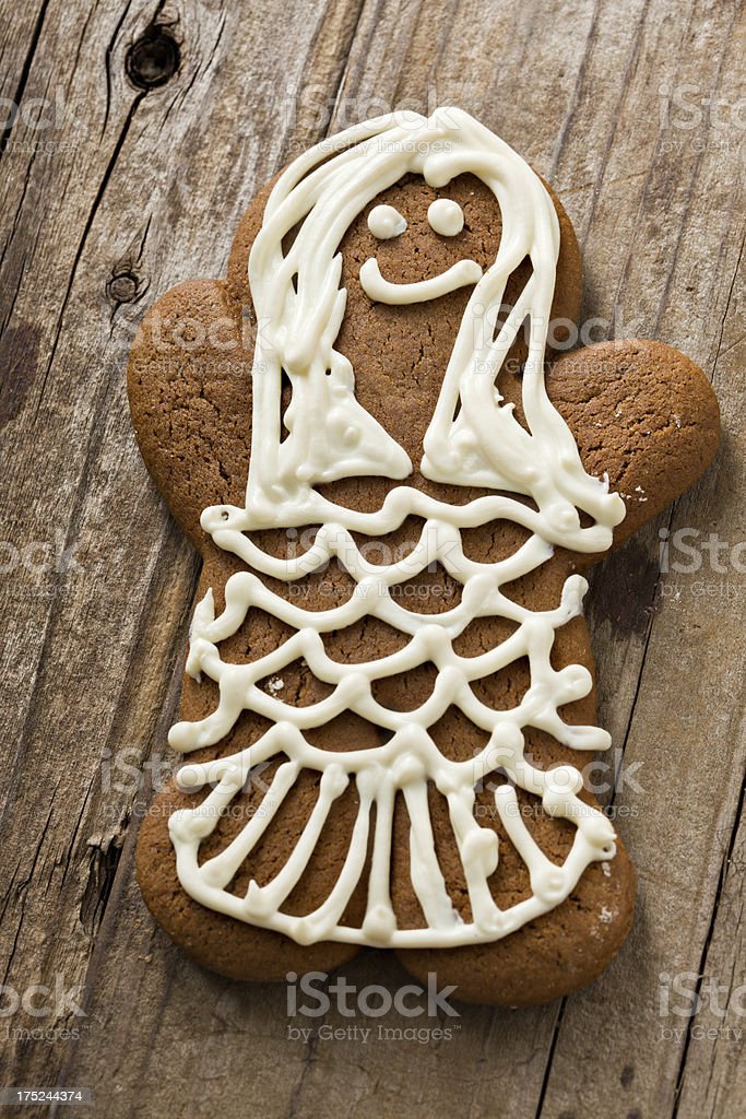 Gingerbread Mermaid royalty-free stock photo