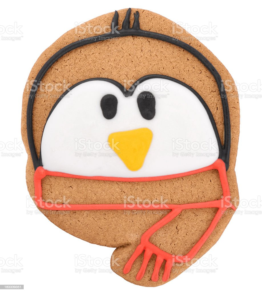 Gingerbread Penguin royalty-free stock photo