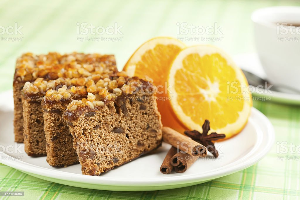 Gingerbread. royalty-free stock photo