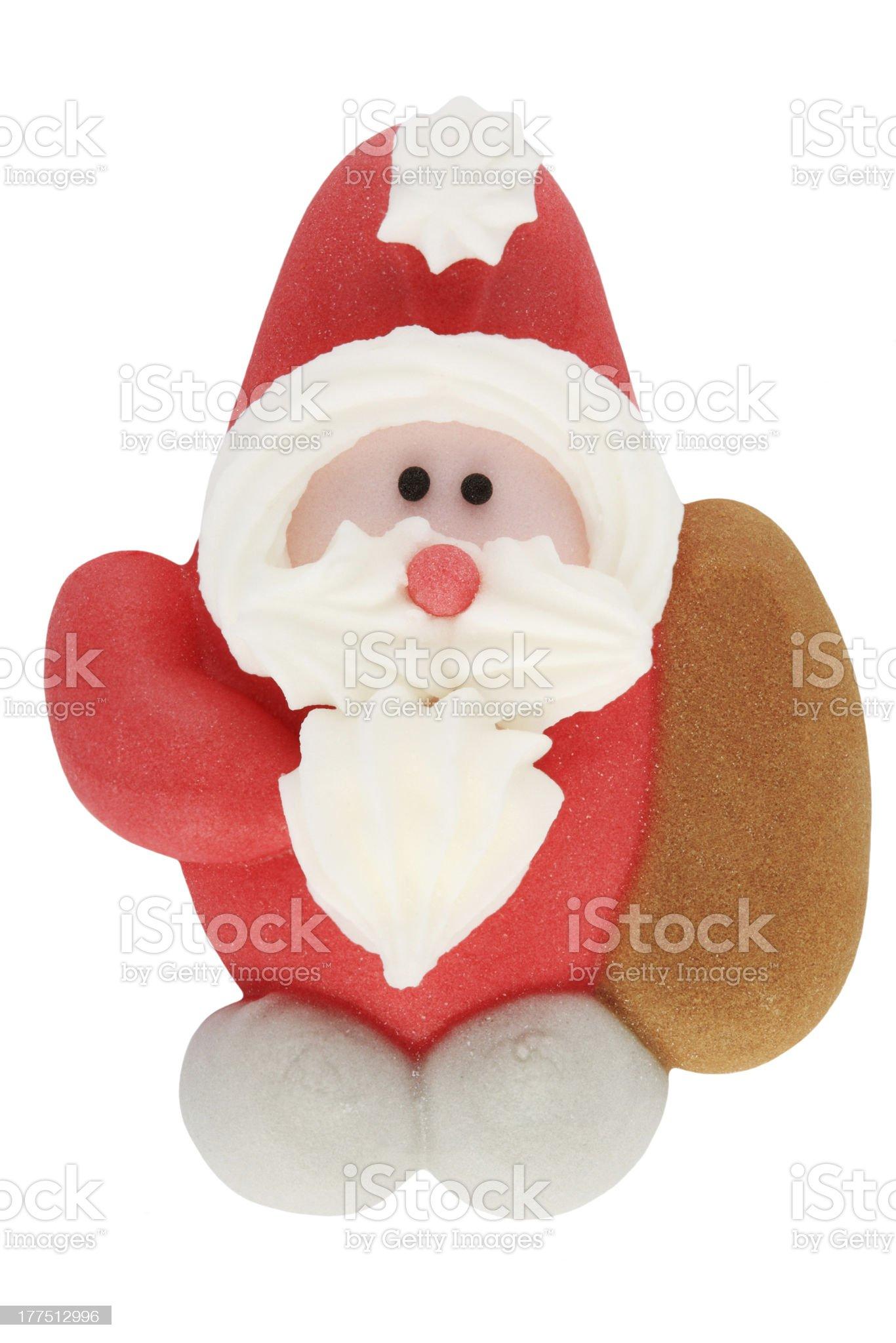 Gingerbread Santa Claus royalty-free stock photo