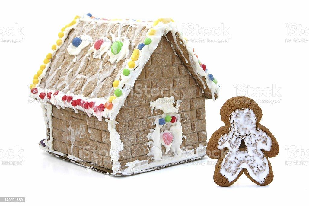Gingerbread Shack royalty-free stock photo