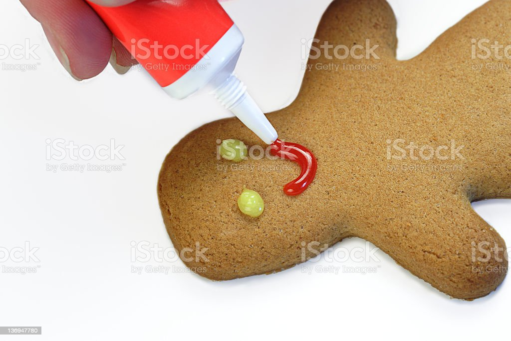 Gingerbread Smile royalty-free stock photo