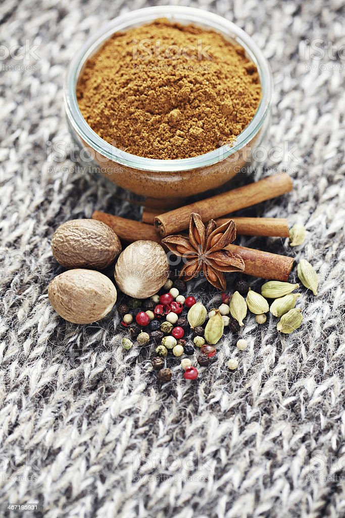 gingerbread spices royalty-free stock photo